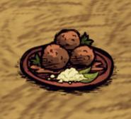Salty Meatballs Ground