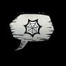 Spider Web Emoticon Icon