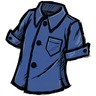 Blue Gem Blue Buttoned Shirt Icon