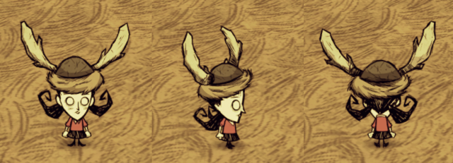 File:Beefalo Hat Willow.png