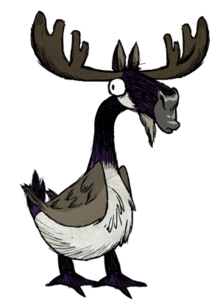 how to get rid of goose moose nest dont starve