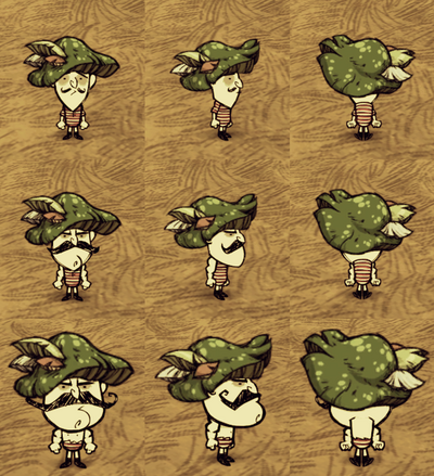 Green Funcap Wolfgang