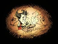 Flaming Typewriter