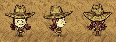 Straw Hat Wigfrid