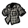 Cumulus Gray Lumberjack Shirt Icon