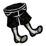 Scribble Black Shorts Icon