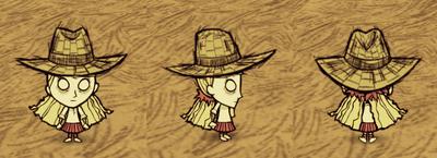 Straw Hat Wendy