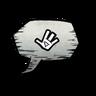 Wave Emoticon Icon