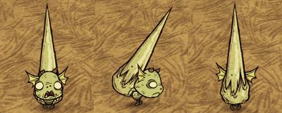 Glass Spike Tall Wurt