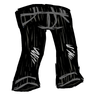 Scribble Black Jeans Icon