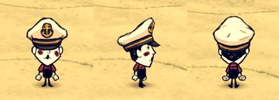 Captain Hat Wes