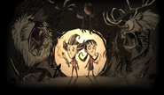 Don't Starve Together Wallpaper Poster