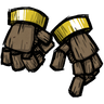Woodcarved Hands Icon