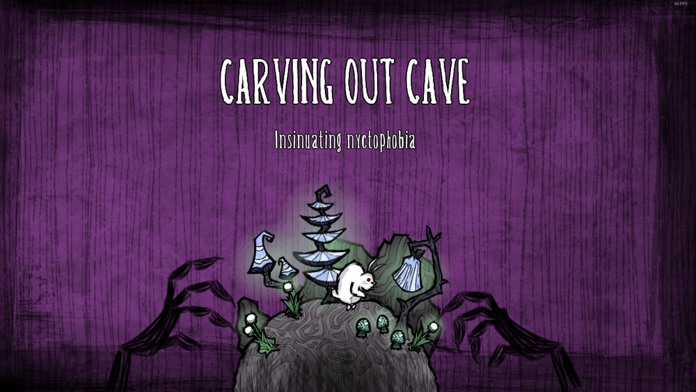 Cave loading screen bunnyman