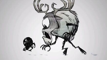 Deerclops and Webber trailer