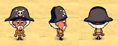 Pirate Hat Warbucks