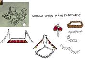 RWP 273 YotC Gym platform concept art