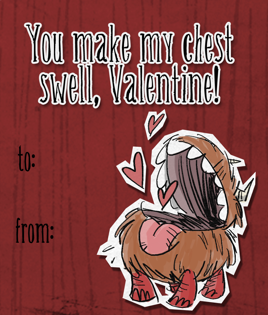 Image Chester Valentine Card Png Don T Starve Game Wiki Fandom
