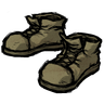 Muddy Shoes Tan Steel-Toed Boots Icon
