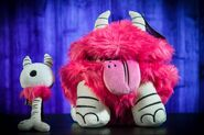 Pink Chester Plush