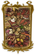 Golden Cornucopia Portrait Background