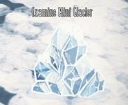 Mini glaciar a traves de su fase de crecimiento