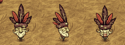 Feather Hat Woodlegs