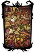 Cornucopia Portrait Background