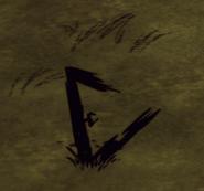Abgebrannter Schattenmanipulator