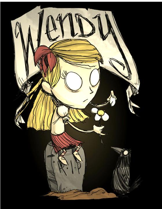 Wendy Dont Starve Wiki Fandom Powered By Wikia