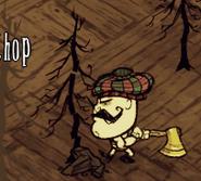 Wolfgang fällt Baum