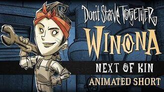 """Don't Starve Together- Don't Starve Together """"Next of Kin"""" Winona animierter Kurzfilm"""
