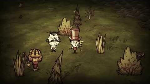 "Don't Starve Together Beta Update Trailer - ""...In With The New."""