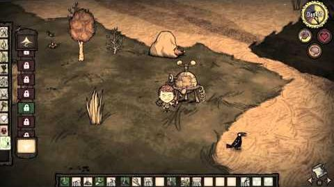 Don't Starve A Feet of Strength (Reign of Giants Update)