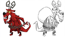 RWP 232 Possessions Krampus Concept Art