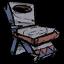 Копия древнего стула