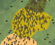 Луг на карте
