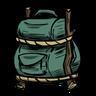 Subaqueous Megafauna Green Rucksack Icon