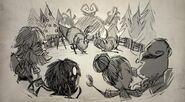 Klaus and Deer Drawing
