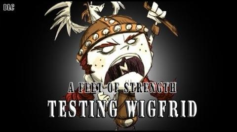 Don't Starve RoG - Testing Wigfrid (New Character from Feet of Strength update)