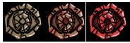Thulecite medallion allstages
