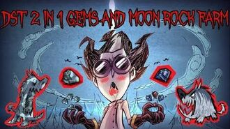 🌙💎 DST 2 in 1 Moon Rock and Gems Farm Tutorial 🌙💎