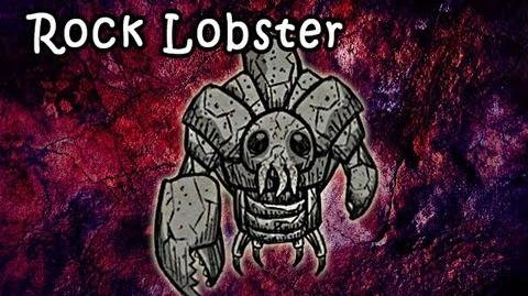 Don't Starve - Rock Lobster (New monster from It's not a Rock update)
