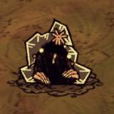 Кроточервь заморожен