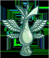 Statue Malbatross Moonglass