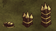 Wood Wall tiers