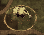 Медведь атакует по площади