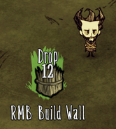Build Wall interface