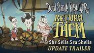Don't Starve Together Return of Them - She Sells Sea Shells Update Trailer