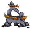 Разрушенная древняя псевдонаучная станция
